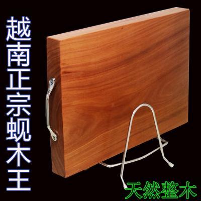 蚬木砧板(铁木菜板)横切与竖切的优缺点