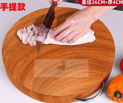 新买的铁木砧板有臭味怎么处理